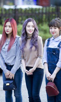 Yeri, Irene & Wendy ♪ Red Velvet