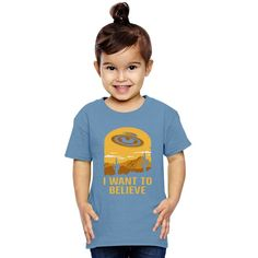 Believe UFO Toddler T-shirt