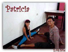 Patricia Isava con el Instructor Nené Contreras