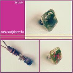 Búzafű és műgyanta! Class Ring, Rings, Crafts, Jewelry, Manualidades, Jewlery, Bijoux, Schmuck, Jewerly