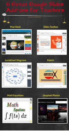 6 Great Google Slides Add-ons for Teachers