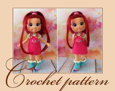 Rubi Doll - Amigurumi Crochet Pattern PDF file by Elena Akkoca (Ecem Design) by KnittLife on Etsy https://www.etsy.com/il-en/listing/526707376/rubi-doll-amigurumi-crochet-pattern-pdf