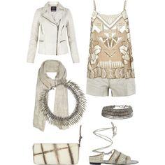 Haute Hippie in White, created by windowsofvienna on Polyvore