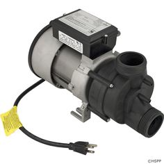 BWG Vico WOW Bath Pump, 1.5hp, 115v, w/Air Switch & Cord