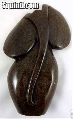 Abstract elephant sculpture made of fruit serpentine stone available at http://squinti.com/?wpsc-product=stone-elephant