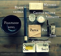 Old World Witchcraft Simple Easy Banishing Spell