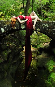 Ginger in the woods 2 - Shaun Tia and JMAC on ModelSociety
