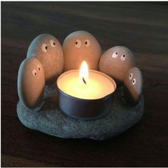 little rock candle holder is perfect for any summer night or even your livi. This little rock candle holder is perfect for any summer night or even your livi. - -This little rock candle holder is perfect for any summer night or even your livi. Cute Crafts, Diy And Crafts, Crafts For Kids, Arts And Crafts, Crafts To Make And Sell Easy, Decor Crafts, Kids Diy, Diy Crafts Cheap, Handmade Crafts