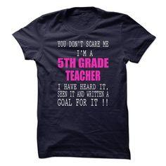 Proud Be A 5th Grade Teacher - #hoodie pattern #sweater shirt. BEST BUY  => https://www.sunfrog.com/No-Category/Proud-Be-A-5th-Grade-Teacher-66000007-Guys.html?60505
