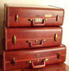 If 'Vintage Luggage' could talk.
