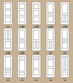 std interior door designs part 2 Interior Door Styles, Door Design Interior, Interior Doors, Door Molding, Moldings, Door Makeover, Diy Home Improvement, Wooden Doors, Home Projects