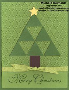 Greetings of the season triangle tree watermark