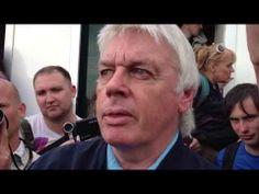 David Icke arrives at Bilderberg 2013 - YouTube