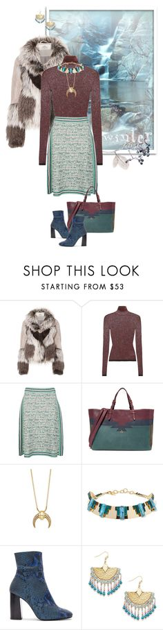 """""""Winter Layers: Chic and Cozy"""" by valeria-meira ❤ liked on Polyvore featuring Urbancode, Missoni, M Missoni, Jérôme Dreyfuss, Elizabeth Cole, Free People, Sole Society, missoni, fauxfur and urbancode"""