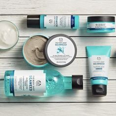 Seaweed collection from The Body Shop