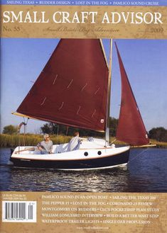 PocketShip: Fast-Sailing Pocket Cruiser with Sitting Headroom and Berths! Sailing Gear, Sailing Dinghy, Chesapeake Light Craft, Wooden Sailboat, Classic Wooden Boats, Yacht Boat, Small Boats, Boat Building, Water Crafts