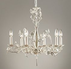 Vintage Fleur Chandelier | Ceiling | Restoration Hardware Baby & Child