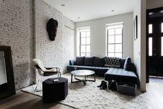 Prachtig townhouse in New York met bakstenen muren - Roomed