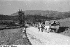 German column, Gran Sasso raid 1943 - pin by Paolo Marzioli