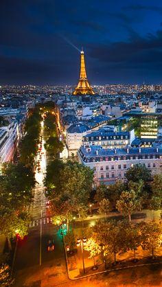City Lights Of Paris