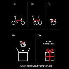 A very Brompton folding bike Christmas!