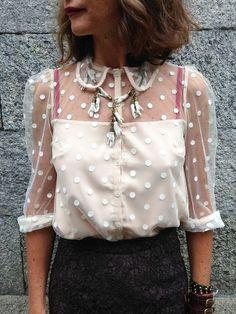 Transparent / shirt / vintage / retro / lovely