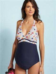 #Bañador Colline para #premamá y #lactancia, Perfecto para sentirse #cómoda y guapa este verano.