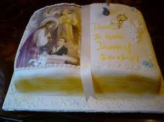 Celebrations in the Catholic Home: First Holy Communion cake ideas