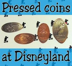 All About Pressed Coins at Disneyland