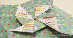 Una tarjeta de regalo muy fácil y rápida de hacer, sólo necesitas 1 hoja de papel y 3 minutos para doblarla. No necesita pegamento, tijeras ni nada más. Seguro que tienes a mano algún papel para probar y aprender a hacer la tarjeta de cumpleaños más fácil del mundo con un molinillo de origami. VÍDEO: CÓMO HACER UNA TARJETA CON FORMA DE MOLINILLO En sólo tres minutos tendrás lista tu tarjeta de cumpleaños de molinillo de papel. Mira cómo doblarla en el vídeo:  |SUSCRIBIRME| gratispara ver…