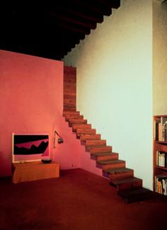Famous Architect: Luis Barragan's home at Calle Ramirez, Mexico City, which he designed himself.