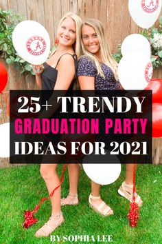 My daughter is graduating in 2021 so we are beginning to plan her graduation party. We are glad we found this post on graduation party ideas. Very helpful! Outdoor Graduation Parties, High School Graduation Gifts, Graduation Party Decor, Graduation Pictures, Party Ideas, Gift Ideas, Daughter, Open House, Holidays