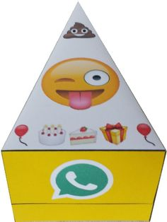 Whatsapp emoji traktatie taartpunt