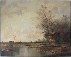 by Danish artist, Nils Hans Christiansen (1850-1922)