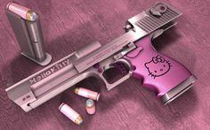 Pistola Hello Kitty