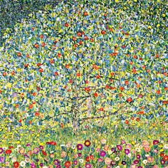 Apple Tree Painting Print