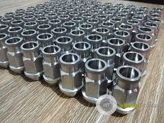 40mm titanium lug nut taper seat..