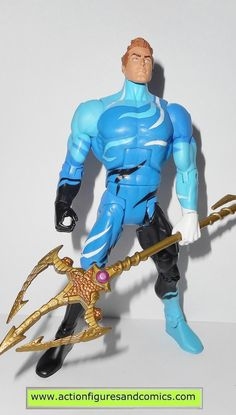 Mattel toys action figures for sale to buy: DC UNIVERSE Classics AQUAMAN Ocean Warrior Suit - wave 7 Atom Smasher series 100% COMPLETE condition: excellent - nice paint, nice joints. nothing broken, d