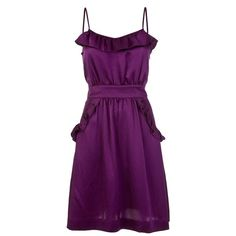 MARC BY MARC JACOBS M101309 PURPLE SILK - ($235) ❤ liked on Polyvore