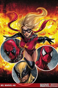 Ms. Marvel - Dark Avengers or just Avenger