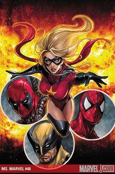 Ms. Marvel - Dark Avengers or just Avenger