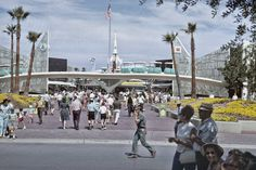 Disneyland Tommorow Land Vintage 1967 Print from Original Negative 3 Versions via Etsy Disneyland Images, Vintage Disneyland, Disneyland Tomorrowland, Fairy Tale Costumes, Fashion Pictures, Style Pictures, Disney Parks, Walt Disney, Back In The Day