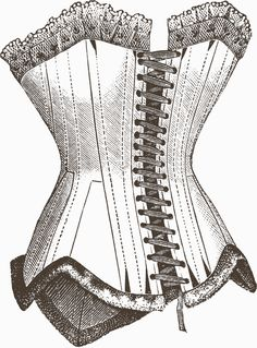 Corsets, my favorite article of clothing