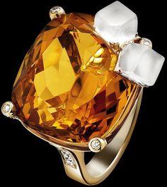 A joalheria PIAGET acaba de lançar uma coleção de anéis espetaculares, que teve como inspiração alguns drinques.