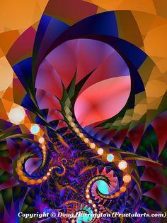 Amazing Seattle Fractals - 2014 Fractal Art
