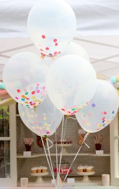 confetti balloons- casual and everyday celebrations pimped out