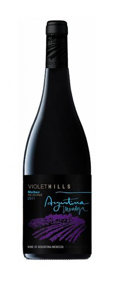 Product Name: Violet Hill Argentina Reserva    Appelation: Maule Valley    Variety: Wine    Country of origin: Argentina