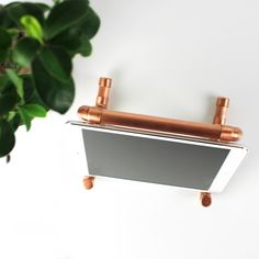 DIY iPad holder #doityourself #tablet #holder #copperpipe