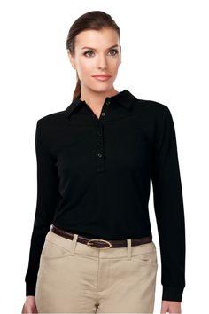 Women's Golf Clothing | Tri Mountain Short Sleeve Golf Polo : KL103LS