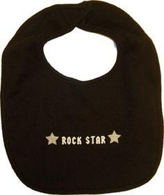 Rock Star Baby Bib